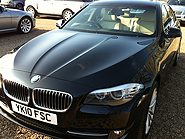 BMW 520d vehicle valeting Doncaster