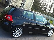 Golf GTd vehicle valeting