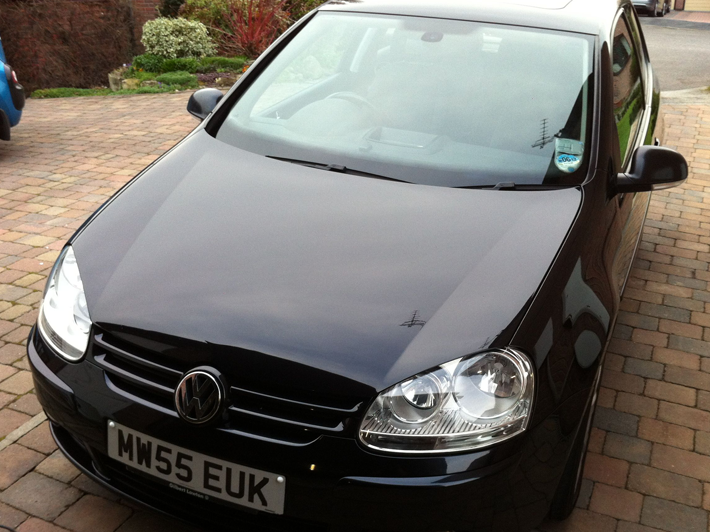 Golf TDi vehicle detailing South Yorkshire
