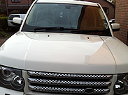 Range Rover vehicle detailing South Yorkshire