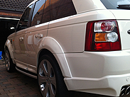 Range Rover direct valeting South Yorkshire