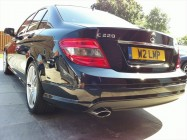 Mercedes AMG C220 direct valeting South Yorkshire