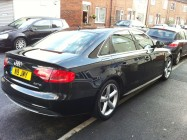Valeting service for Audi A4