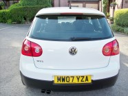 Golf GTi vehicle detailing South Yorkshire