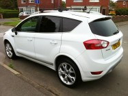 Valeting service for Ford Kuga