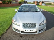 Jaguar XF SV8 vehicle valeting Doncaster