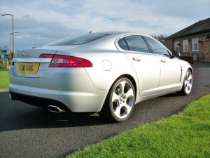 Jaguar XF SV8 car protection Doncaster