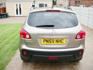 Nissan Qashqai vehicle valeting Doncaster
