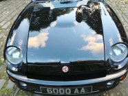 Valeting and detailing for MG RV8