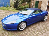 Aston Martin DB9 Volante vehicle valet Ripponden