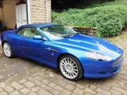 Aston Martin DB9 Volante vehicle detailing South Yorkshire