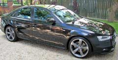 Audi A4 vehicle detailing South Yorkshire