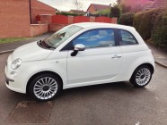 Valeting and detailing for Fiat 500