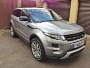 Valeting service for Range Rover Evoque