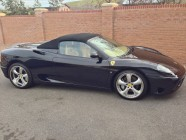 Ferrari Spider vehicle valet Doncaster