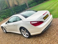 Mercedes SL350 car detailing Sheffield