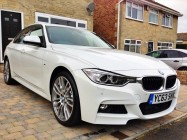 Car valeting service for BMW 335d