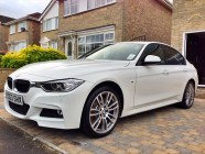 Detailing service for BMW 335d