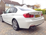 BMW 335d car detailing Sheffield