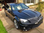 C63 AMG car valet South Yorkshire