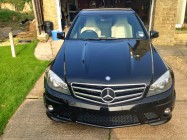 Car valeting service for C63 AMG