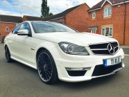 Mercedes C63 AMG car detailing Yorkshire