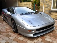 Car valeting for Jaguar XJ220