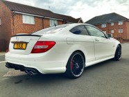 Mercedes C63 AMG car valet Sheffield