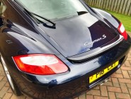 Car valeting for Porsche Cayman S
