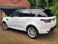 Car valeting for Sport Autobiography