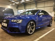 Car valeting for Audi RS5