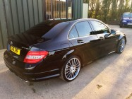 Detailing and valeting for Mercedes C63 AMG