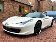 Detailing and valeting for Ferrari 438 Italia