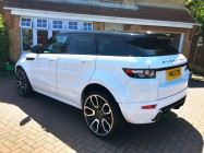 Evoque Overfinch car valet Sheffield