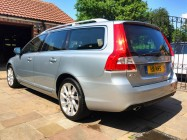 Volvo V70 D5 car valeting service Doncaster
