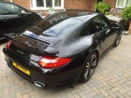 Detailing and valeting for Porsche 997