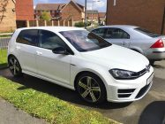 Detailing and valeting for VW Golf R
