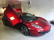 McLaren MP4-12C car detailing South Yorkshire