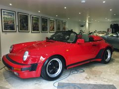 Porsche 911 Speedster car valeting service Doncaster