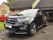 Car valeting for Ford Edge