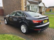 Audi A4 car valet Sheffield
