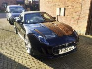 Detailing and valeting for Jaguar F Type