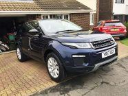 Car valeting for Range Rover Evoque