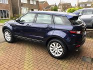 Range Rover Evoque car detailing South Yorkshire