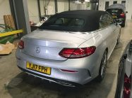 Mercedes C250 car detailing South Yorkshire