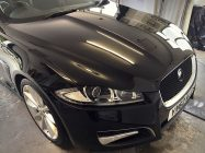 Car valeting for Jaguar XF