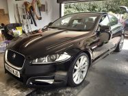 Jaguar XF car valeting service South Yorkshire