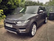 Range Rover Sport car protection West Yorkshire