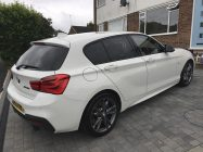 Valeting and detailing for BMW 135i