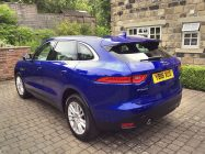 Detailing and valeting for Jaguar F Pace
